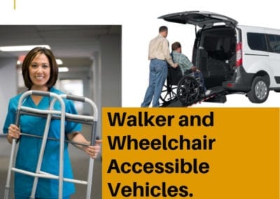 walker accessible car