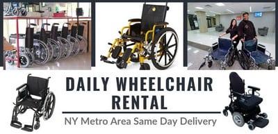 wheelchair rental service