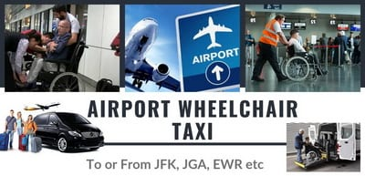 wheelchair transportation to the airport