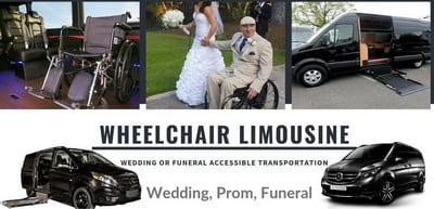 limo service with wheelchair ramp