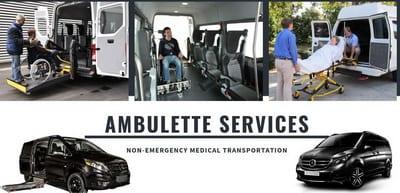 Ambulette transportation nyc