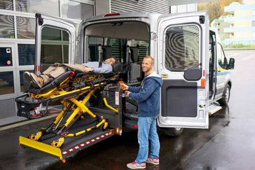 stretcher van service lift transport